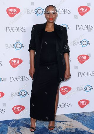 Editorial photo of Ivor Novello Awards, London. UK - 31 May 2018