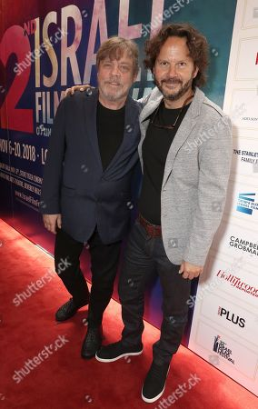 Mark Hamill and 2018 IFF Achievement in Film Award Winner Producer Ram Bergman