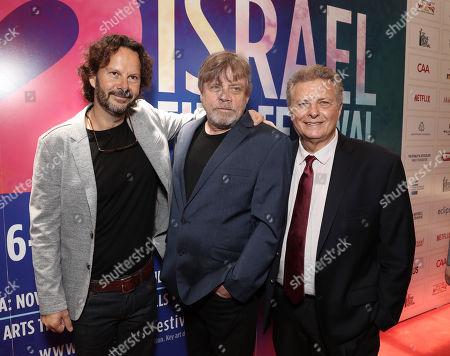 2018 IFF Achievement in Film Award Winner Producer Ram Bergman, Mark Hamill and Executive Director/Founder of IFF Meir Fenigstein