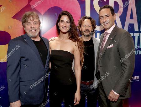 Mark Hamill, Rona-Lee Shim'on, 2018 IFF Achievement in Film Award Winner Producer Ram Bergman and IFF Festival Chairman and Senior Agent at CAA Adam Berkowitz