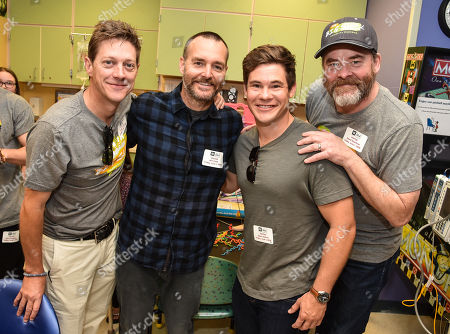 Kevin Rahm, Will Forte, Adam Devine and David Koechner