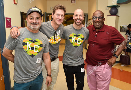 Kevin Pollak, Kevin Rahm, Chris Daughtry and Al Roker