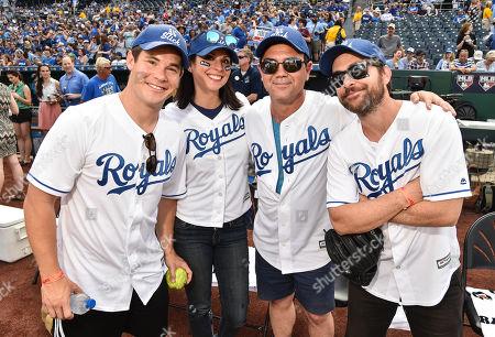 Adam Devine, Beth Dover, Joe Lo Truglio and Charlie Day