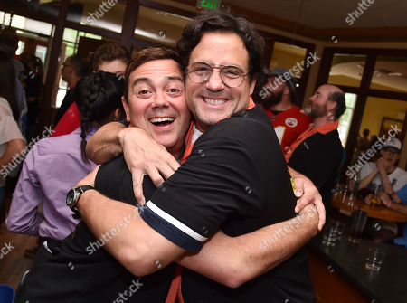 Joe Lo Truglio and Josh Hopkins