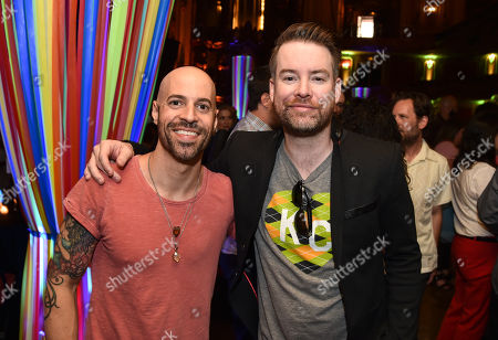 Chris Daughtry and David Cook