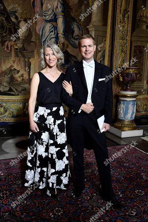 Jennie Fridolin and Gustav Fridolin