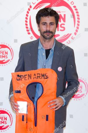 Editorial photo of 'Proactiva Open Arms' charity dinner, Madrid, Spain - 31 May 2018