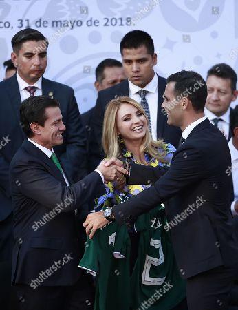 Enrique Pena Nieto and Angelica Rivera