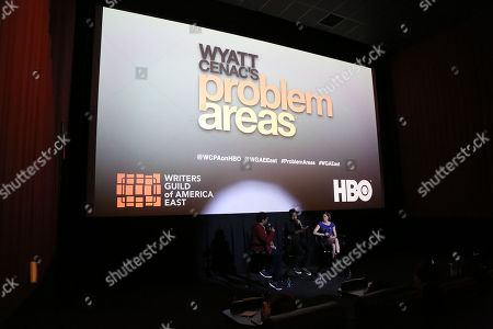 """Editorial photo of NYC Special Screening and Q & A for HBO's """"Wyatt Cenac's Problem Areas"""", New York, USA - 31 May 2018"""