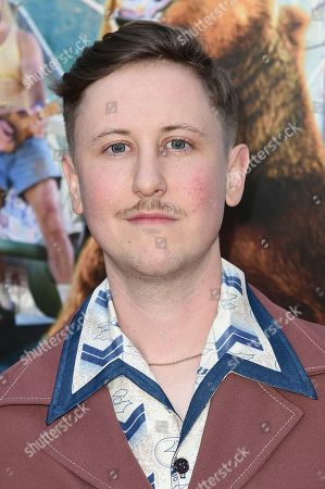 """Johnny Pemberton attends the LA Premiere of """"Action Point"""" at ArcLight Hollywood, in Los Angeles"""