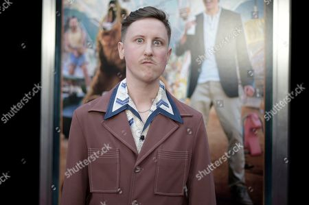 """Stock Photo of Johnny Pemberton attends the LA Premiere of """"Action Point"""" at ArcLight Hollywood, in Los Angeles"""