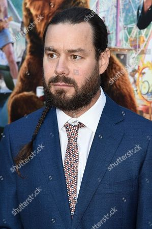 "Chris Pontius attends the LA Premiere of ""Action Point"" at ArcLight Hollywood, in Los Angeles"