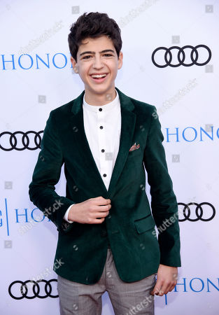 Actor Joshua Rush poses at the 11th Annual Television Academy Honors, in Los Angeles