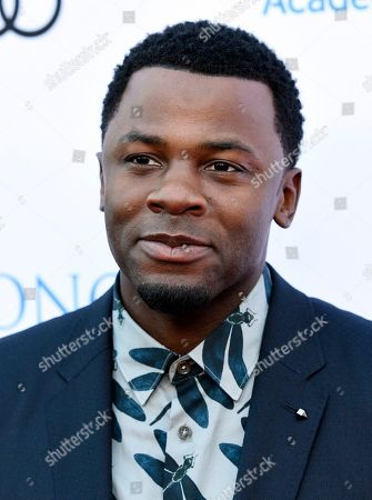 Actor Derek Luke poses at the 11th Annual Television Academy Honors, in Los Angeles