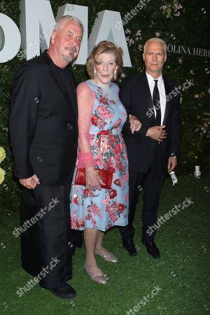 Jack Shear, Agnes Gund and Klaus Biesenbach