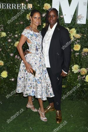 Editorial picture of MoMA 'Party in the Garden', New York, USA - 31 May 2018