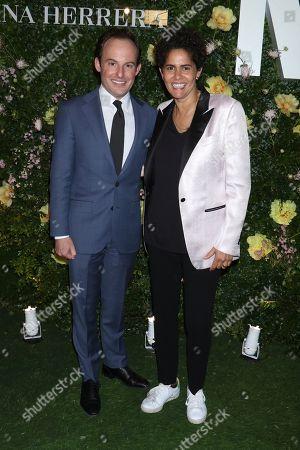 Scott Rothkopf and Julie Mehretu