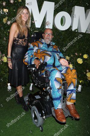Suzanne Scott and Chuck Close