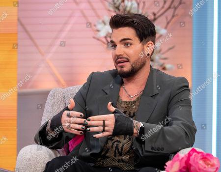 Stock Image of Adam Lambert