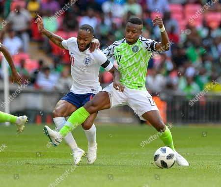 Editorial picture of England v Nigeria, International Football Friendly, Wembley Stadium, London, UK - 02 Jun 2018