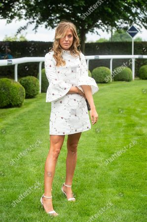 Frankie Gaff, Made In Chelsea, attends Ladies' Day