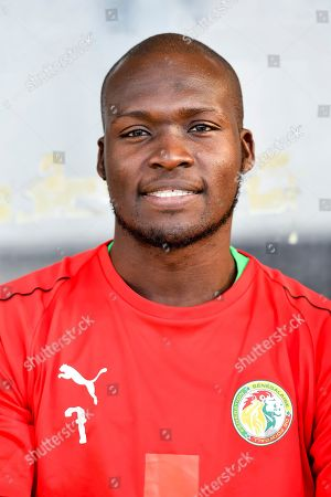 Stock Picture of Senegal's Moussa Sow prior to a friendly soccer match between Luxembourg and Senegal at the Josy Barthel stadium in Luxembourg