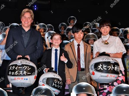 Editorial image of 'Wonder' film premiere, Tokyo, Japan - 31 May 2018