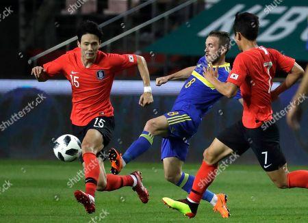Editorial photo of Bosnia and Herzegovina Soccer, Jeonju, South Korea - 01 Jun 2018