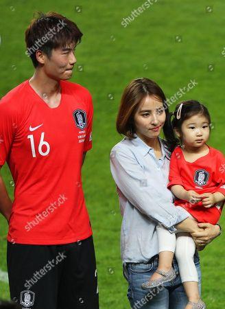 Ki Sung-yueng and Han Hye-jin