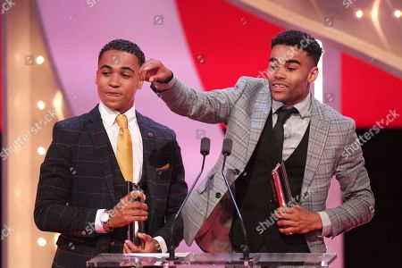 Stock Picture of Theo Graham and Malique Thompson-Dwyer - Best On-Screen Partnership
