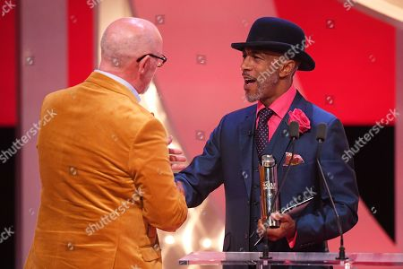 Connor McIntyre - Villain of the Year - presented by Danny John-Jules