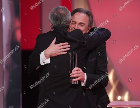Kieron Roberts, Former Executive Producer, Coronation Street - Tony Warren Award - presented by Brian Capron