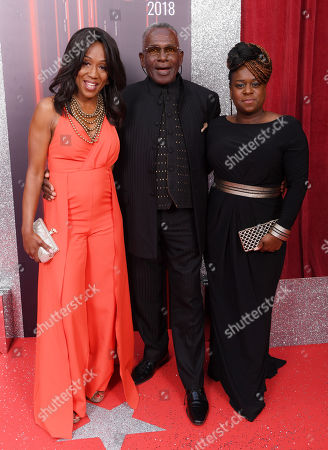 Diane Parish, Rudolph Walker and Tameka Empson