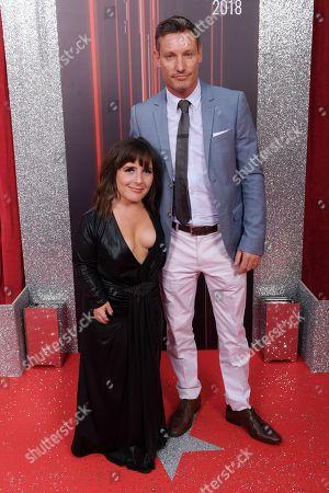 Stock Image of Lisa Hammond and Dean Gaffney