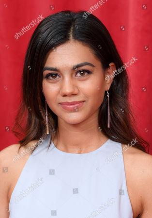 Editorial image of British Soap Awards, Arrivals, Hackney Empire, London, UK - 02 Jun 2018