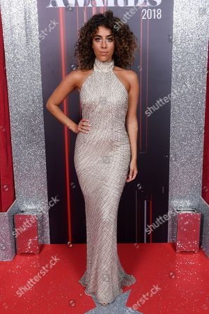 Editorial photo of British Soap Awards, Arrivals, Hackney Empire, London, UK - 02 Jun 2018
