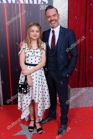 Matilda Freeman and Daniel Brocklebank