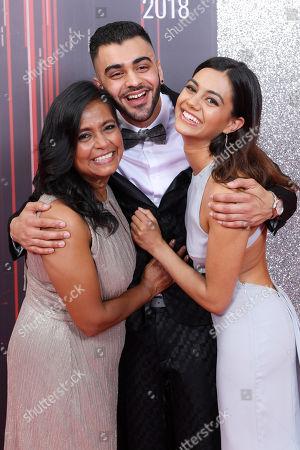 Bharti Patel, Sunjay Midda and Lisa Ambalavanar