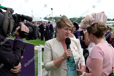 Claire Balding interviews owners and connections