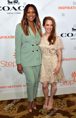 Garcelle Beauvais and Amy Davidson