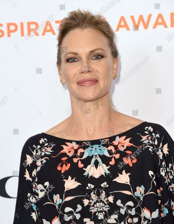 Sarah Jane Morris arrives at the Inspiration Awards benefiting Step Up at the Beverly Wilshire Hotel, in Beverly Hills, Calif