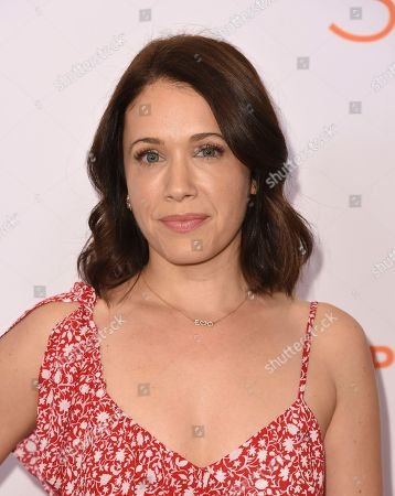 Marla Sokoloff arrives at the Inspiration Awards benefiting Step Up at the Beverly Wilshire Hotel, in Beverly Hills, Calif