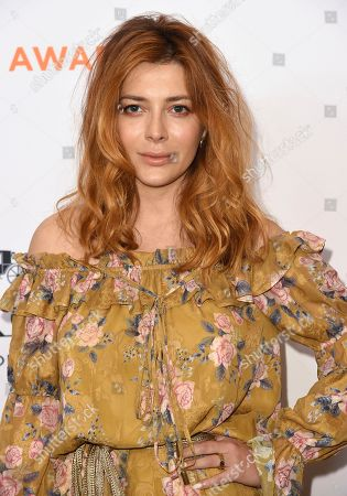 Elena Satine arrives at the Inspiration Awards benefiting Step Up at the Beverly Wilshire Hotel, in Beverly Hills, Calif