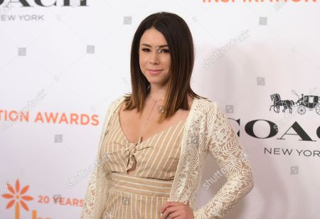 Jillian Rose Reed arrives at the Inspiration Awards benefiting Step Up at the Beverly Wilshire Hotel, in Beverly Hills, Calif