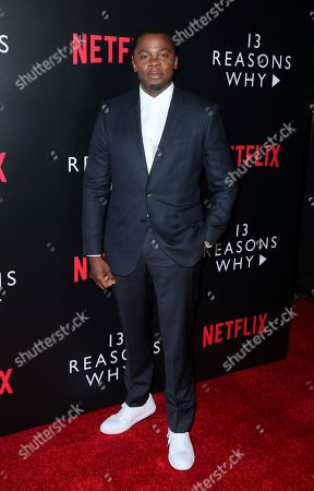 "Derek Luke arrives at the ""13 Reasons Why"" FYSEE Event at the Raleigh Studios, in Los Angeles"