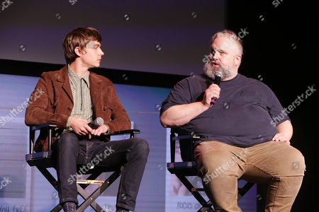 Stock Photo of Miles Heizer and Exec. Producer Brian Yorkey