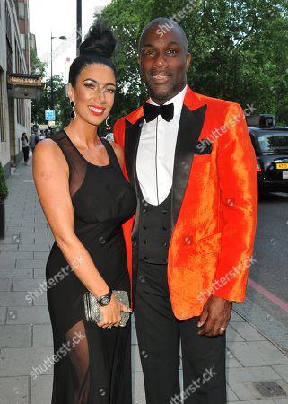 Maria Yates and Derek Redmond