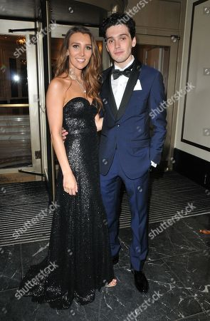 Lucy Kane and Jack Rowan