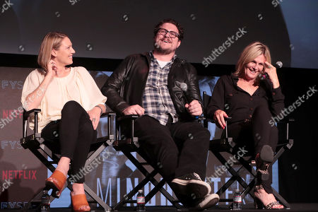 Anna Torv, Cameron Britton, Laray Mayfield, Casting Director,