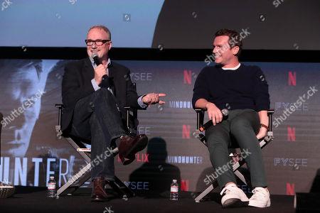 David Fincher, Director/Executive Producer, Jonathan Groff
